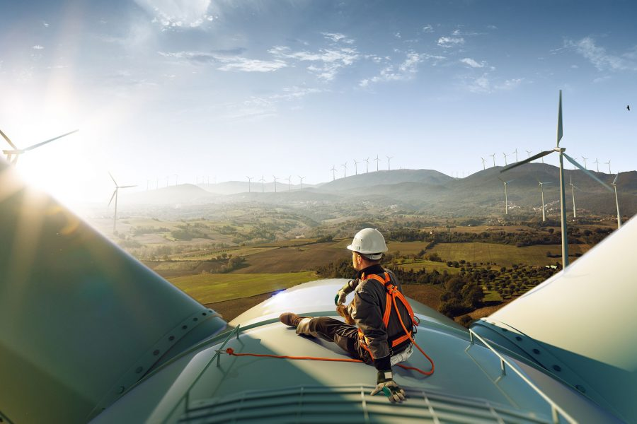 Wir sind P&S Service GmbH. Ihr Partner für sichere Windkraftanlagen.